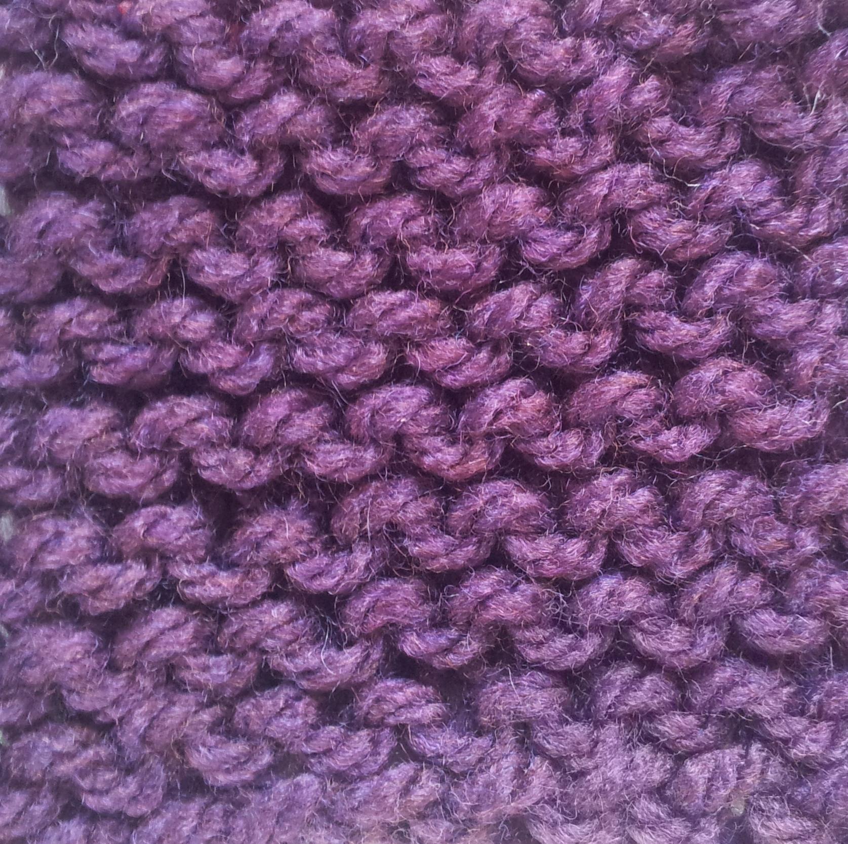 Decrease Knitting Garter Stitch : Opinions on Basic knitted fabrics