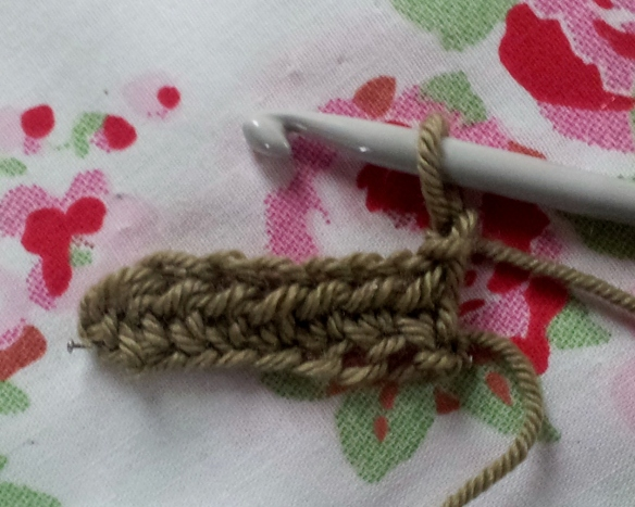 Anyone for crochet? The half treble (UK) or half double (US) stitch ...