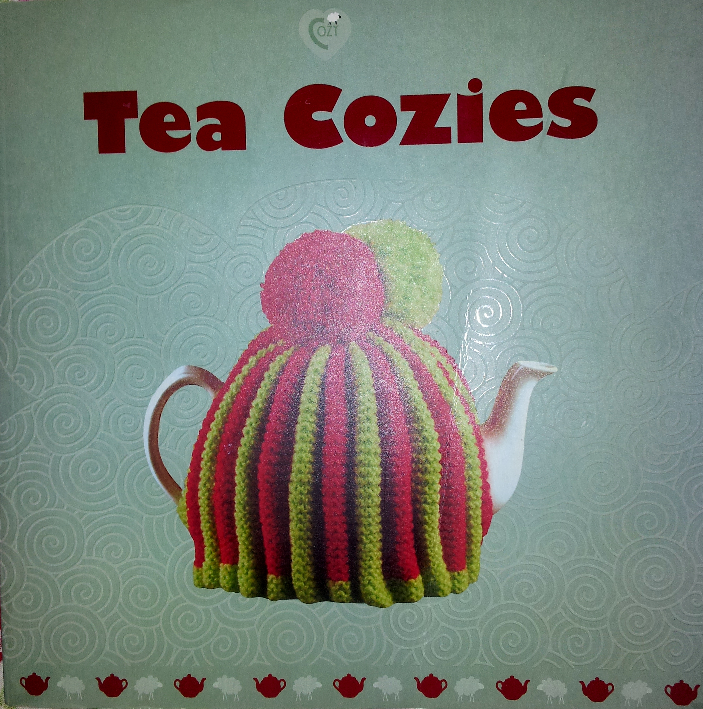 My vintage style knitted tea cosy cozy thestitchsharer for Tea cosy template