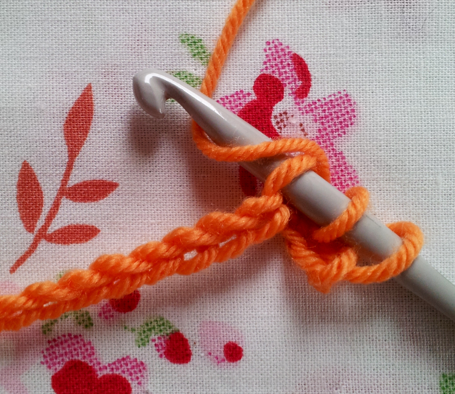 Crochet Stitches Uk Treble : Anyone for crochet? The treble (UK) or double (US) stitch ...