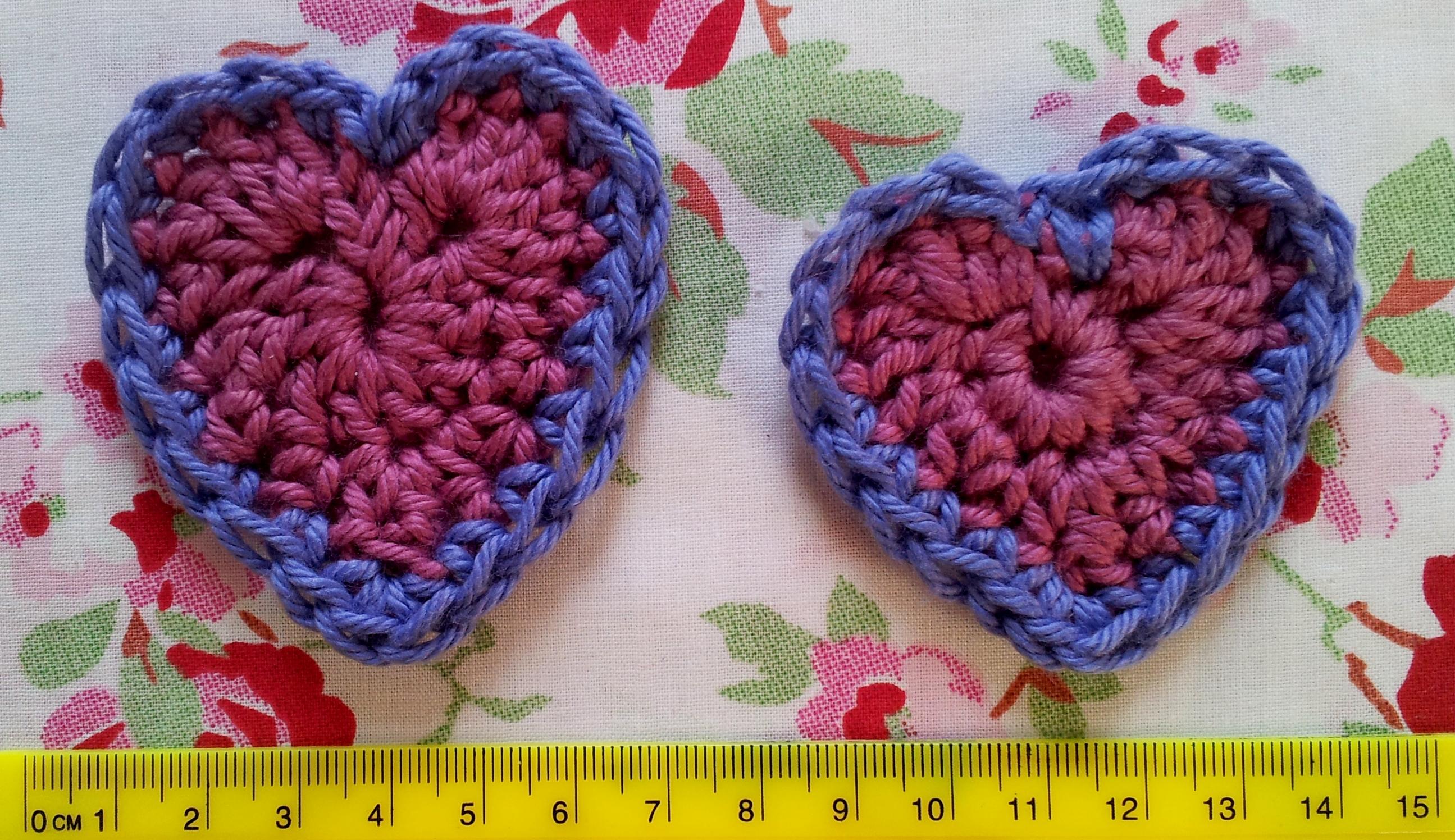 Crocheting Hearts : Crochet hearts