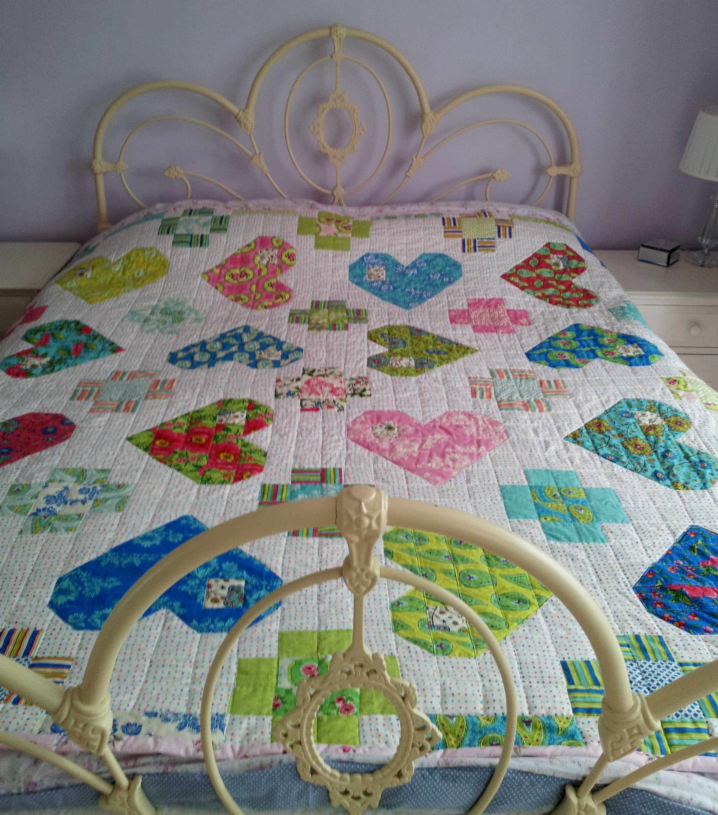 Be My Valentine Jelly Roll Quilt Tried And Tested