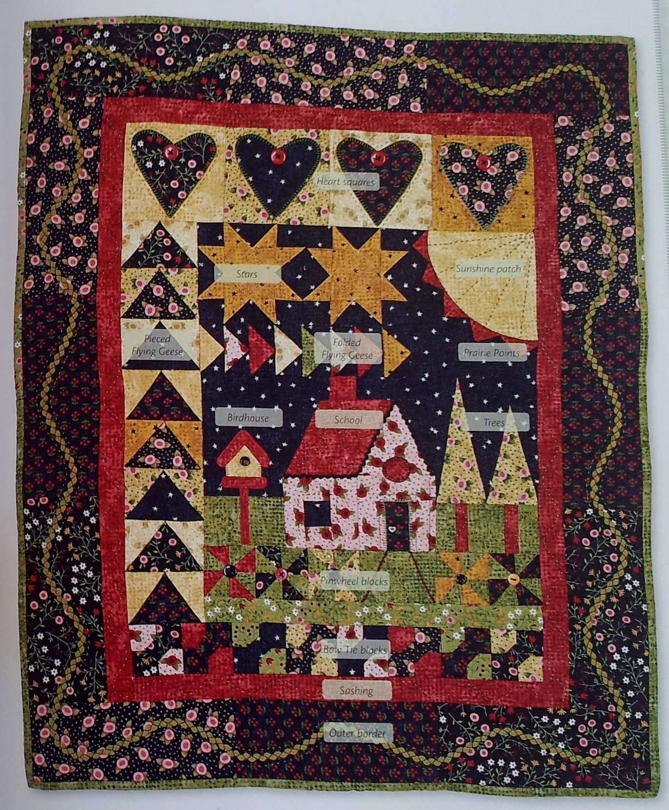 Welcome quilt tried and tested thestitchsharer for Patchwork quilt book
