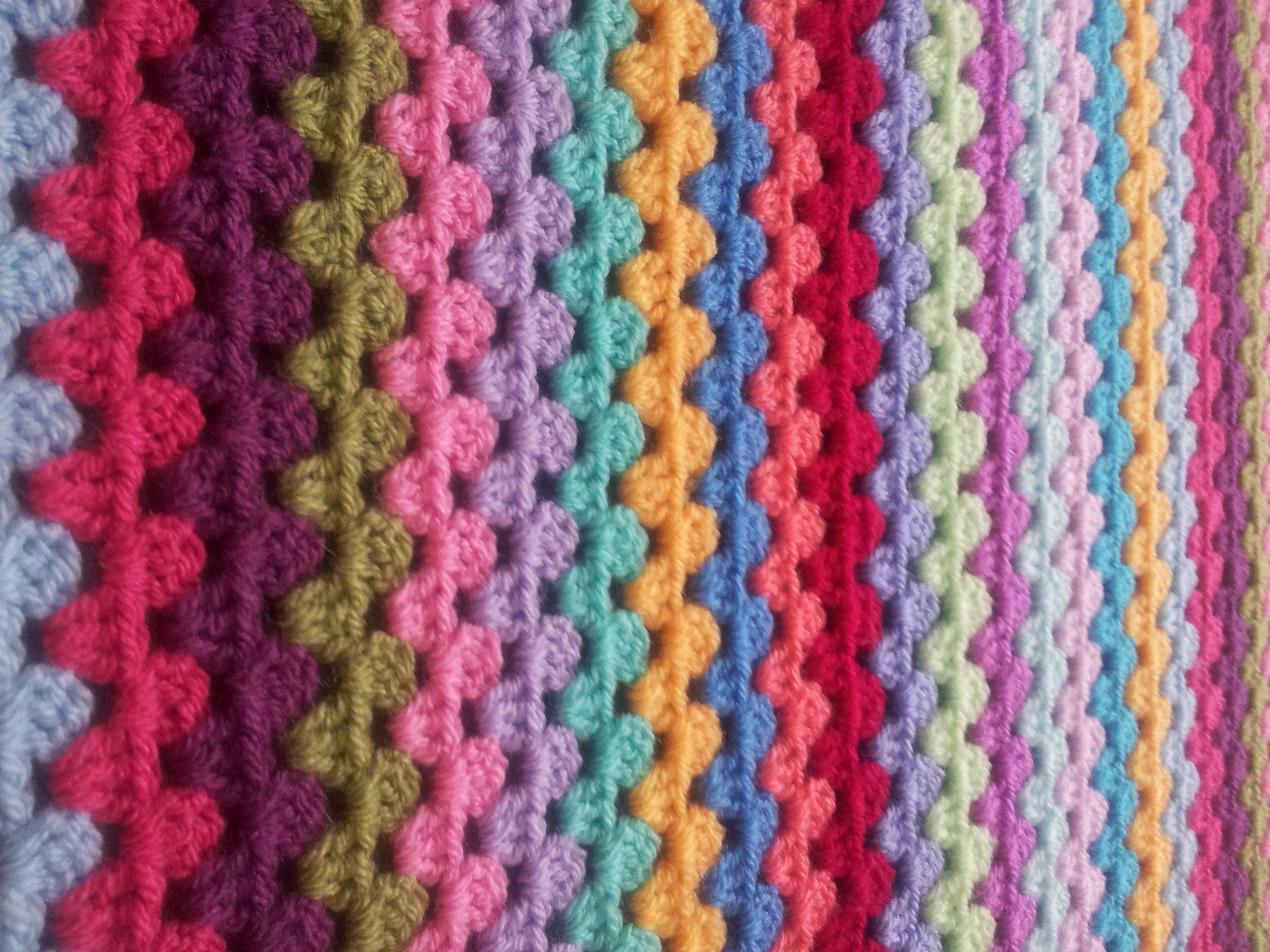 Granny Stripe Blanket Pattern Simple Inspiration Ideas