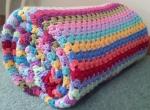 My Attic 24 Granny Stripe Blanket