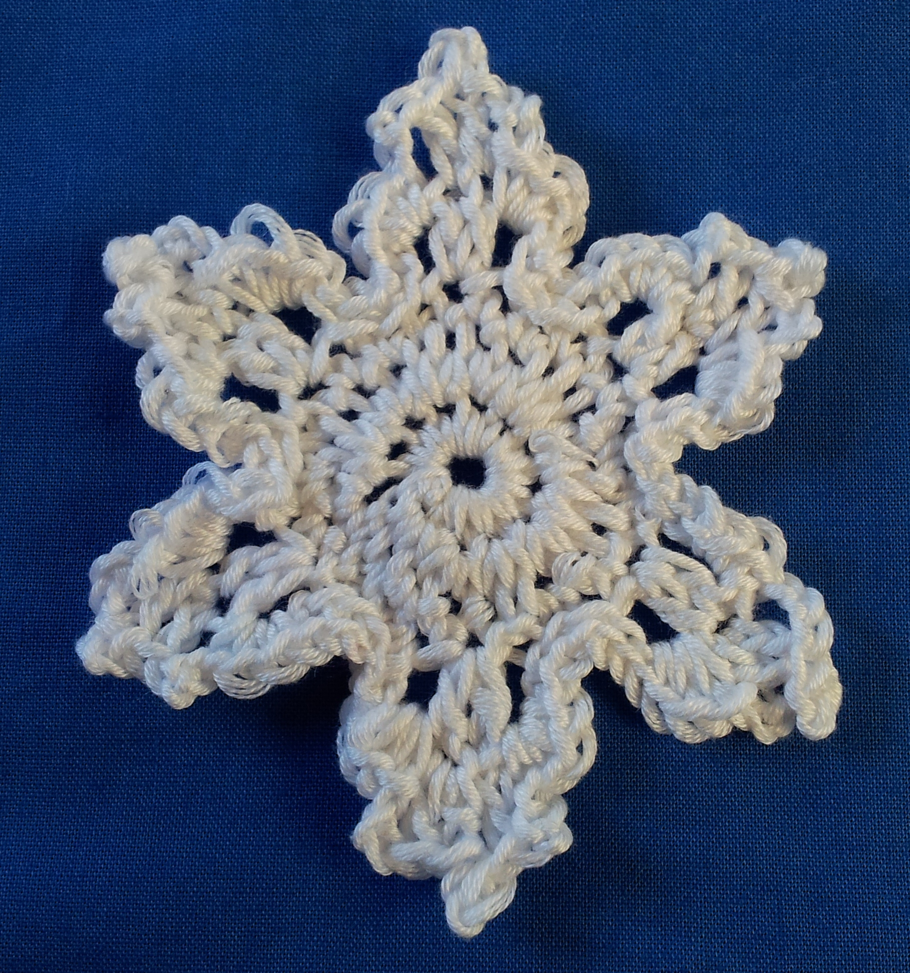 Crochet Snowflake Patterns Free Easy : Quick and Easy Crochet Snowflake Patterns ? tried and ...
