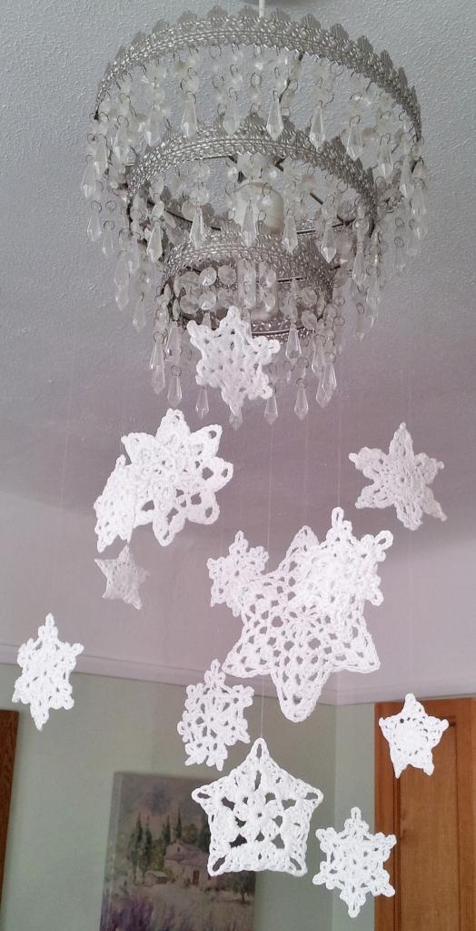 Snowflake Mobile Thestitchsharer