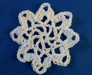Snowflake star The Complete Book of Handicrafts