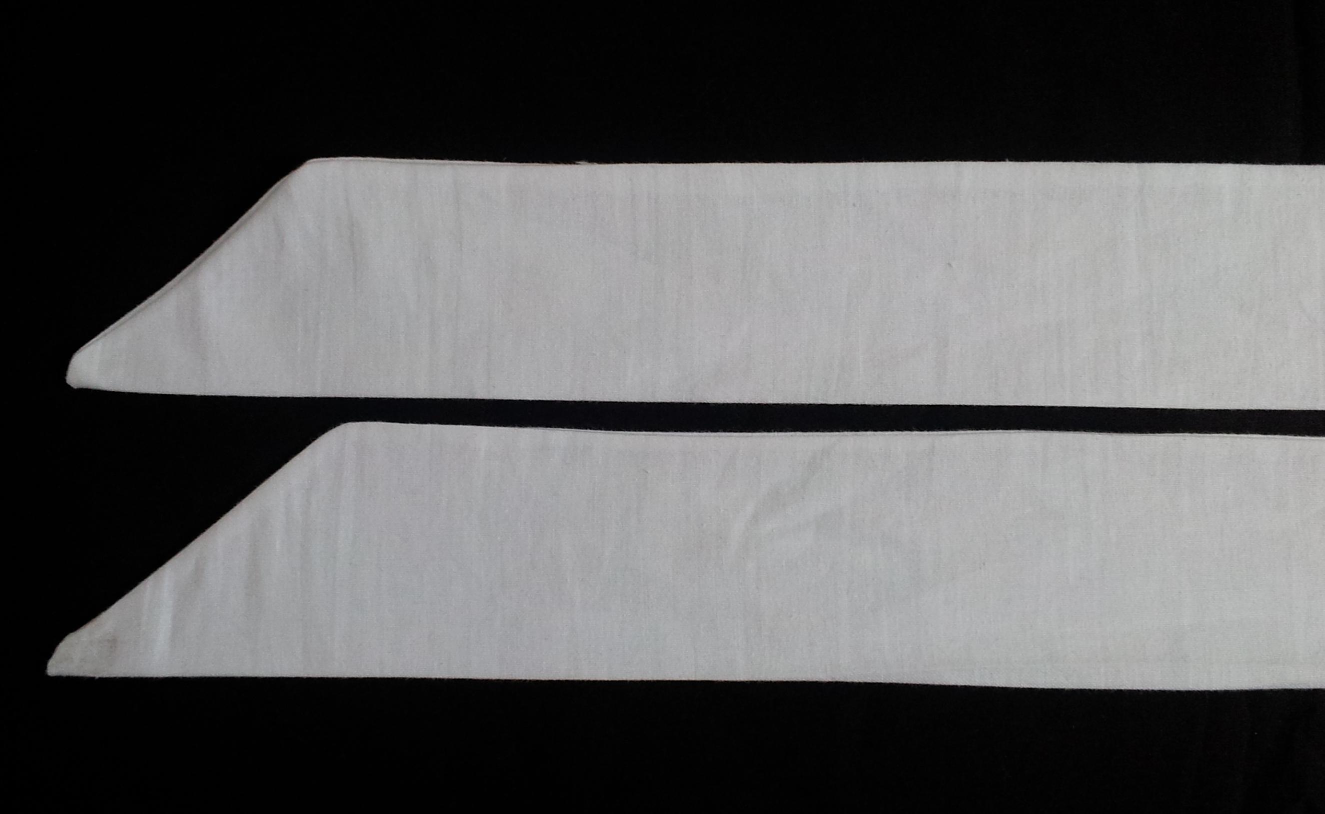 White apron brighton - Apron Tie Ends