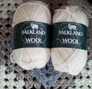 Falkland Island Wool Aran Yarn