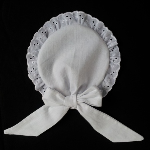 Finished maid hat - right side