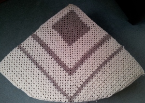 Triangle shaped top finished