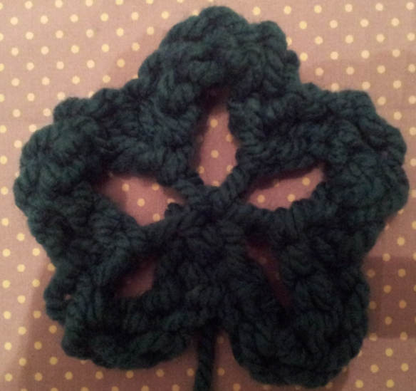 Simple Knitted Flower
