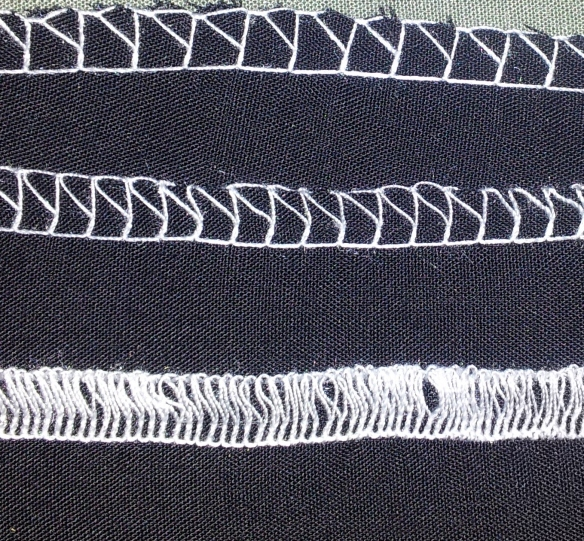 Stitch lengths