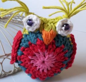 Bunny Mummy Owl Finished