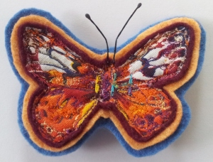 Butterfly Brooch finished