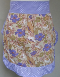 Lovely Lilac Mini Pinny (2)