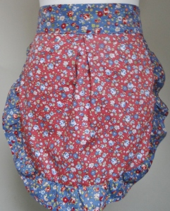 Red Disty Blue Frill front