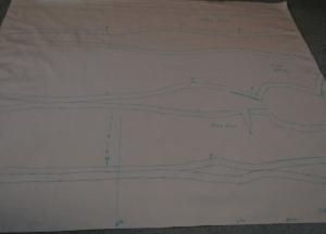 Marking 2nd Toile