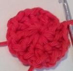 Mandala Crochet Clock Round 1