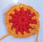 Mandala Crochet Clock Round 2