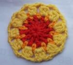 Mandala Crochet Clock Round 3