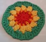 Mandala Crochet Clock Round 4