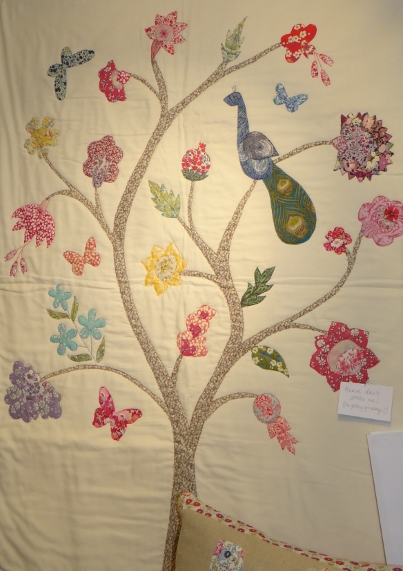 Alice Caroline Tree of Life Applique quilt