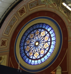 Circular Window Ally Pally