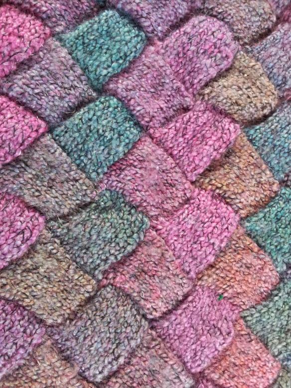 Entrelac Knitting Revival thestitchsharer