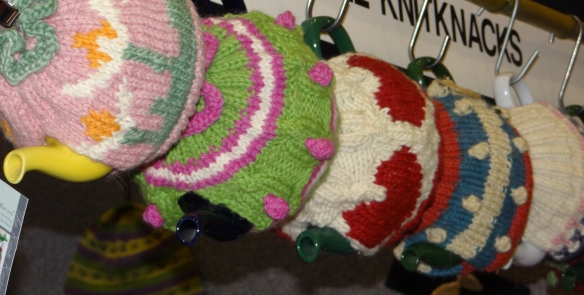 The Knit Knacks Tea pots
