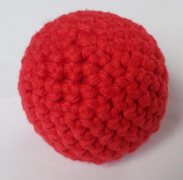 Christmas Crochet Ball