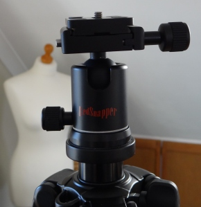 Red Snapper Tripod with Ball head