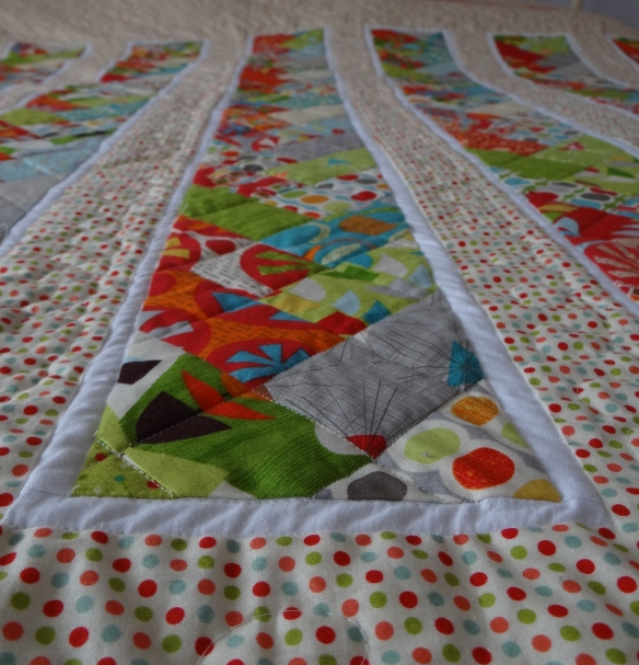 A Jelly Roll Quilt Of Blogging Friendship Thestitchsharer