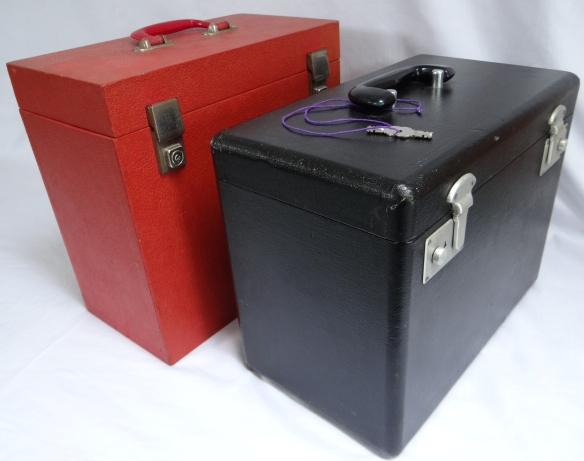 featherweight 222k vs LP vinyl case