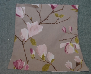 New lamp shade fabric cover