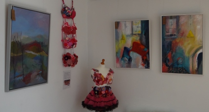 Cloudhopper Gallery bras on display