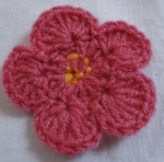 knit and natter flower