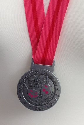 The MoonWalk London Medal