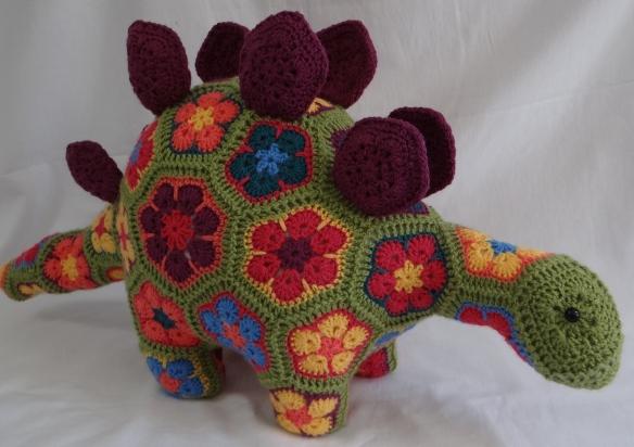 Puff the Magic Stegosaurus Heidi Bear