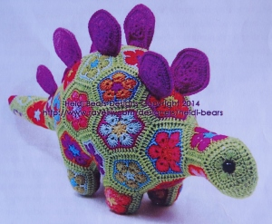 Puff the magic stegosaurus heidi bear