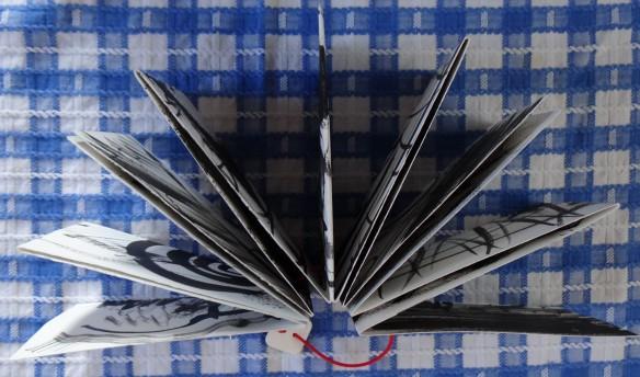 concertina book handmade