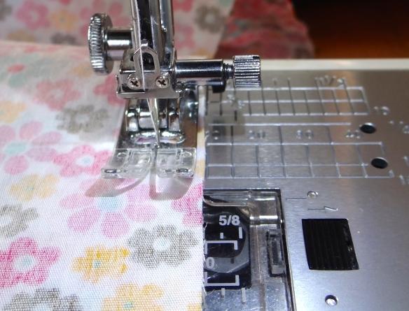 Sew side seam