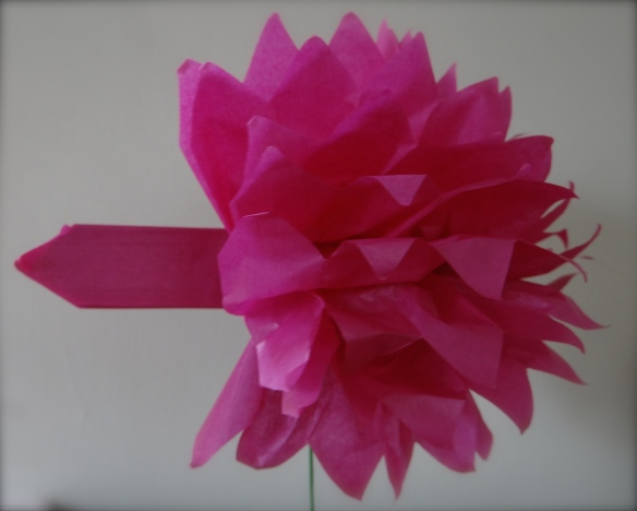 the magic of paper flowers