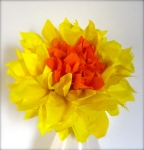 Paper double daffodil the stitch sharer