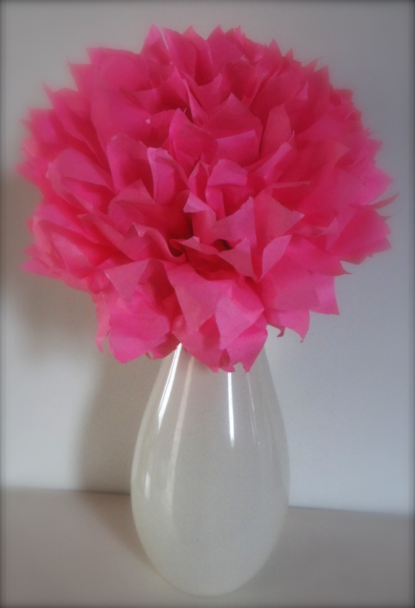 Peony Tissue Paper Flower