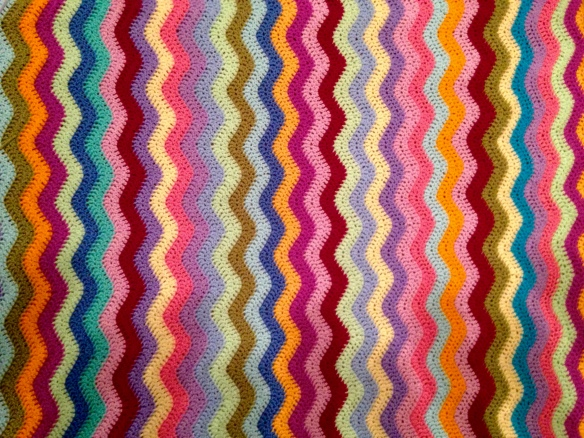 My Attic 24 Ripple Blanket