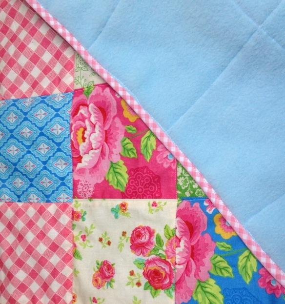 bias binding on a blanket