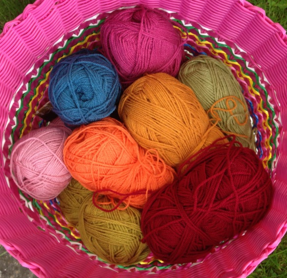 yarn basket washing basket