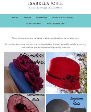 Isabella Josie Website Look Book